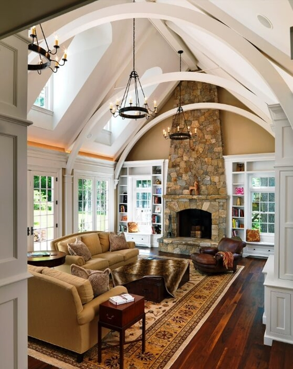 interesting-ceiling-design-for-living-room