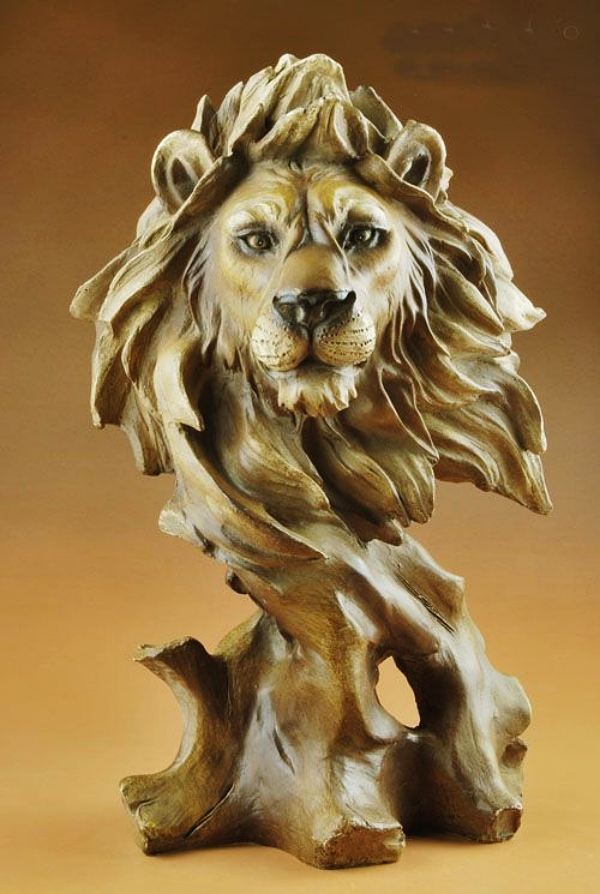 Realistic-Handmade-Wooden-Animal-Sculptures