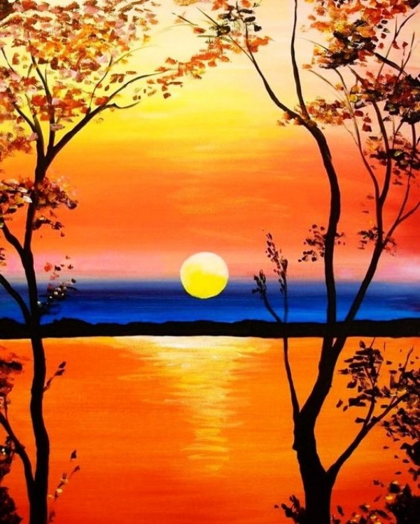 Simple-and-Beautiful-Acrylic-Painting-Ideas-for-Beginners