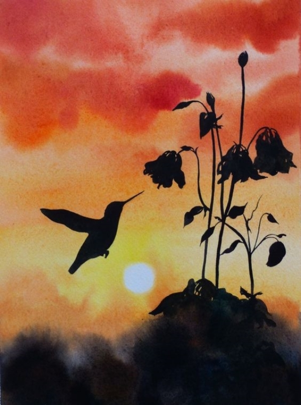 Nature Watercolor Nature Easy Painting Ideas For Kids Healthy Care Even though they started bad paintings, they drew like novice artist before gaining fame. nature watercolor nature easy painting