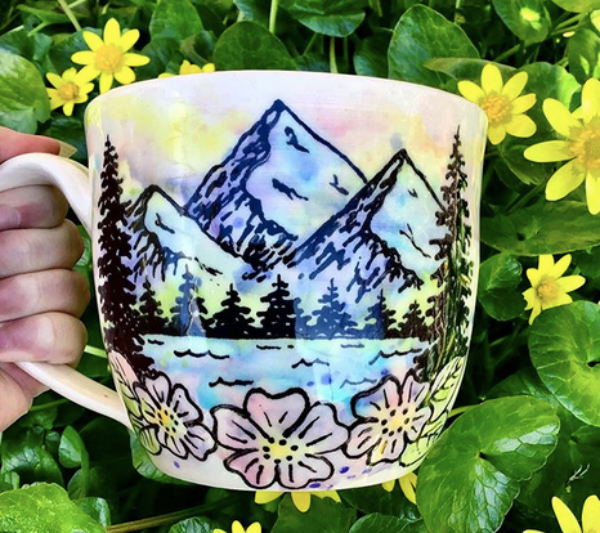 Pottery Painting Ideas When You Can'tDraw
