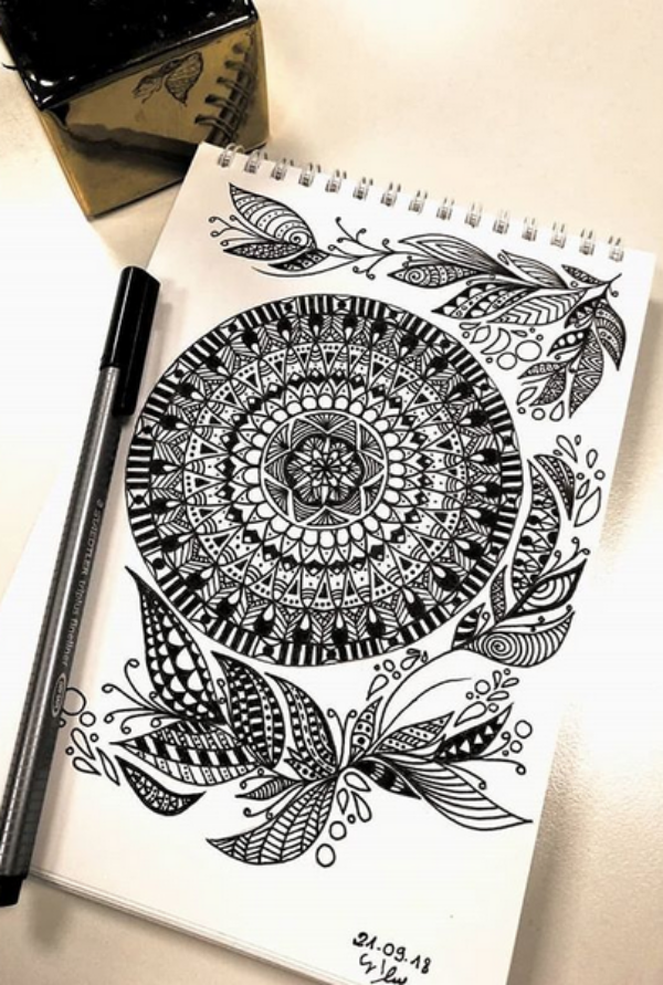 How-to-draw-a-Mandala-Simple-Mandala-Drawing-ideas-and-Designs