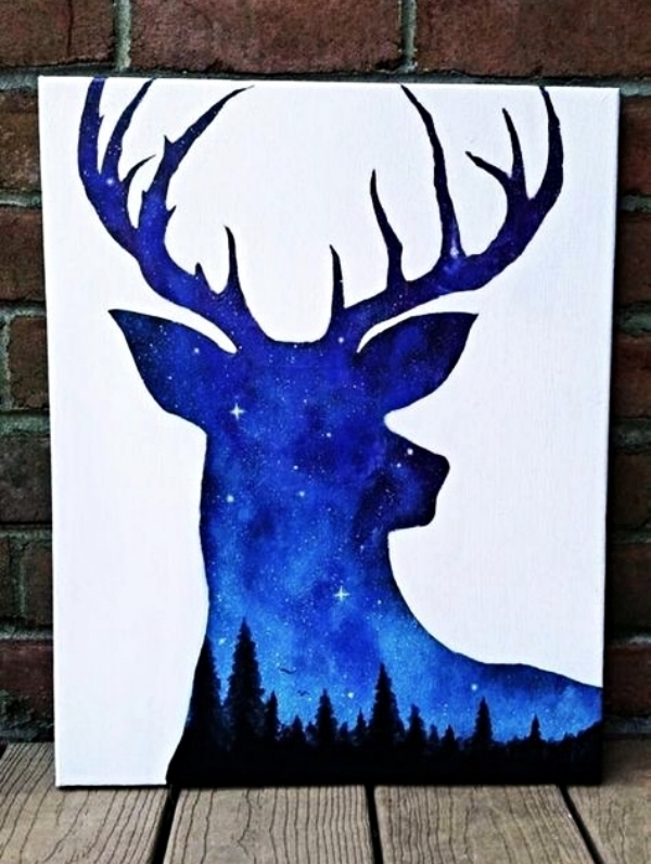 70 Easy And Beautiful Canvas Painting Ideas For Beginners To Try