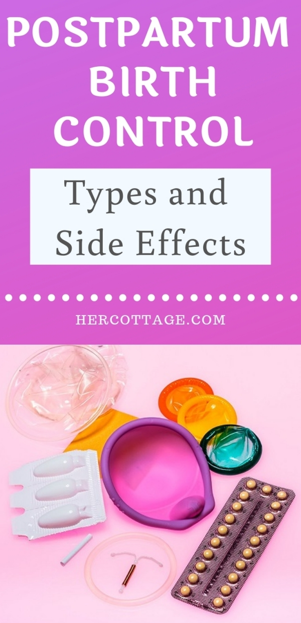 Postpartum Birth Control - Types and Side Effects