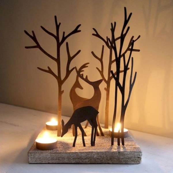 Smart 6-Minute Christmas Candle Decorating Ideas and Inspirations