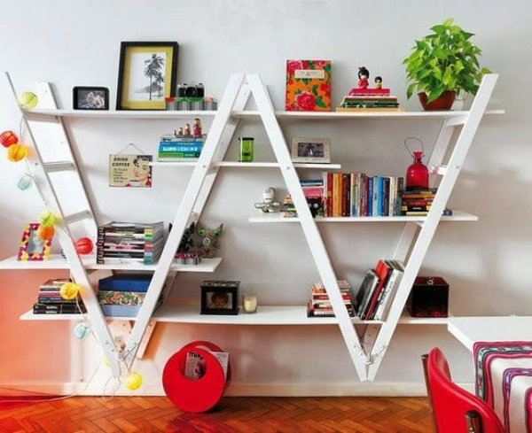 Smart Ways to Repurpose and Decorate with an Old Ladder