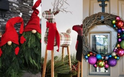 Christmas Decoration Ideas for Outdoor Parties