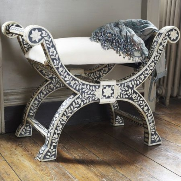 Artistic Bone Inlay Furniture Which Will Make Your Rooms More Living