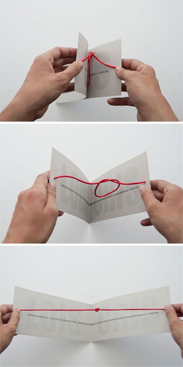 Knot Greeting Card for Him