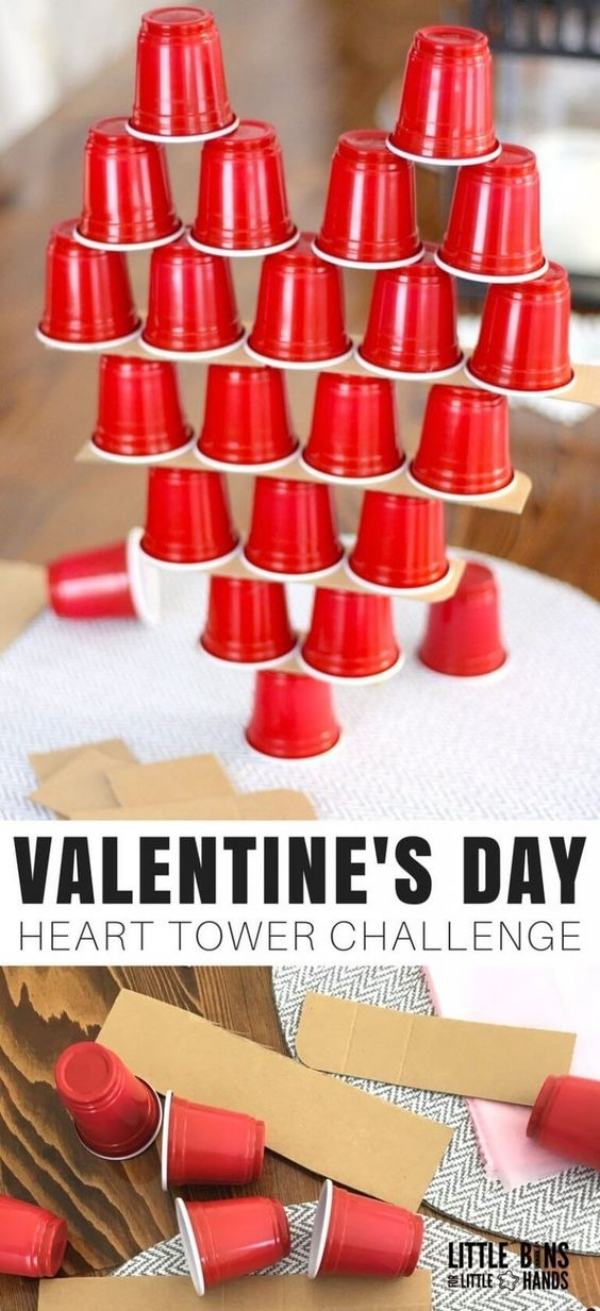 Heart Tower Challenge