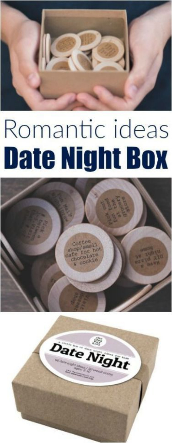 Romantic Date Night Ideas Box