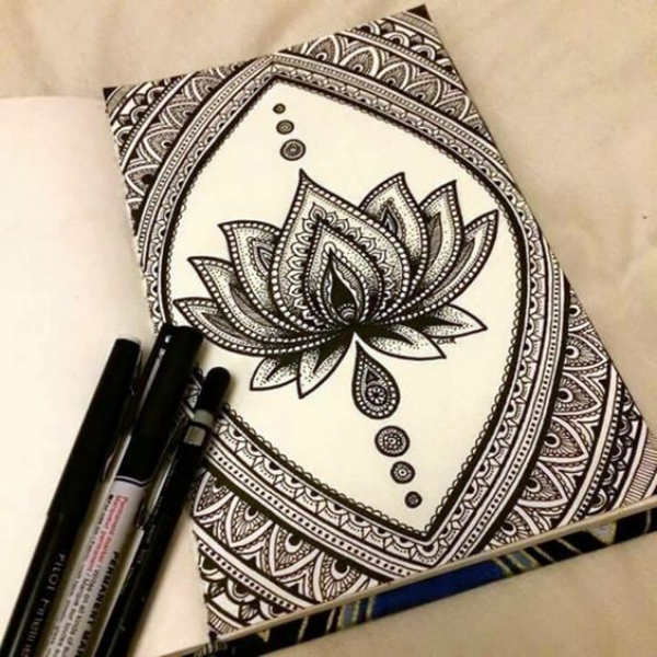How To Draw A Mandala 75 Simple Mandala Drawing Ideas And Designs Hercottage