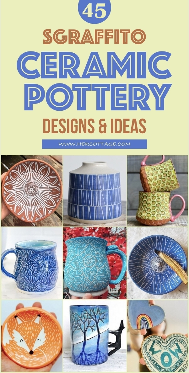 45 Sgraffito Ceramic Pottery Designs And Ideas Hercottage