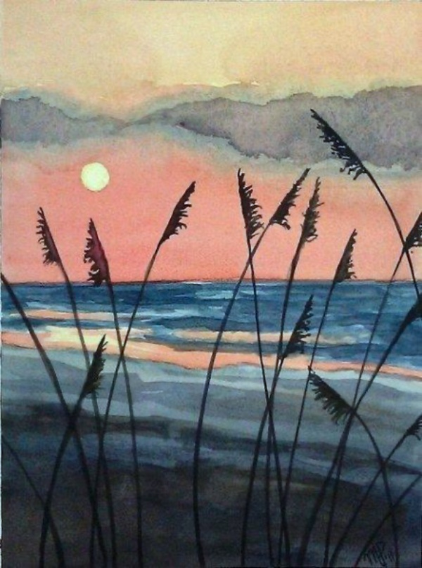 Watercolor Landscape Painting Ideas